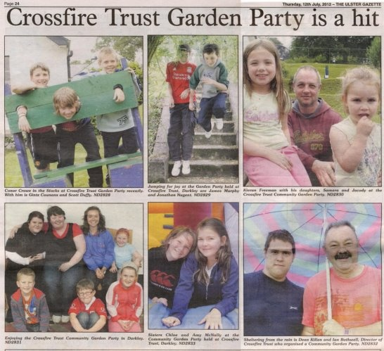 Ulster Gazette article about Fun Day