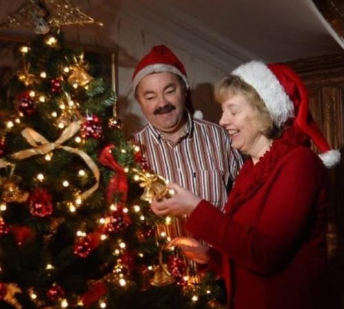 Christmas 2011 - Ian and Pauline