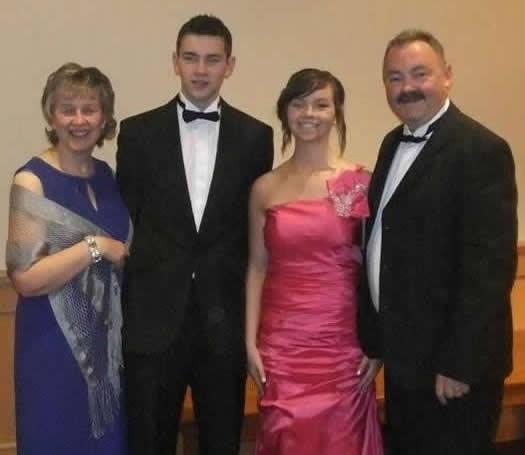 Ian awarded MBE - Armagh dinner
