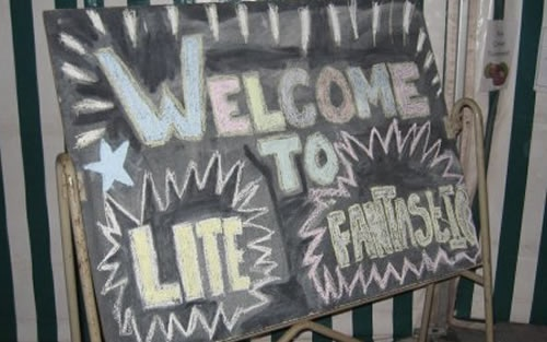 Lite Fantastic sign