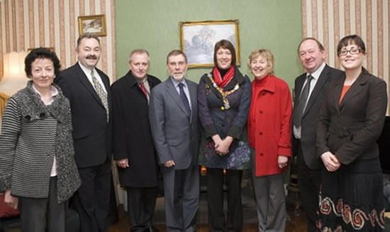 Ministerial visit - 19 December 2011