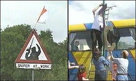 Sign change in Crossmaglen