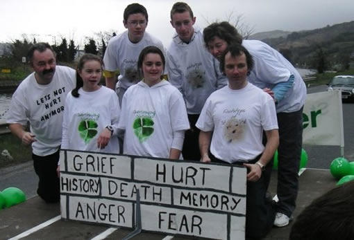 Crossfire Trust - St Patrick's Day parade - Newry